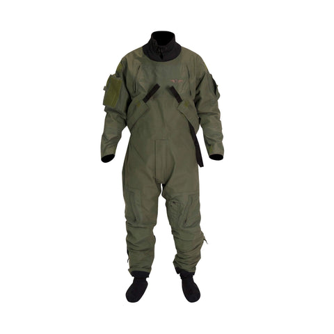 MSF300GB Constant Wear Aviation Dry Suit System (2 Layer) Sage Green