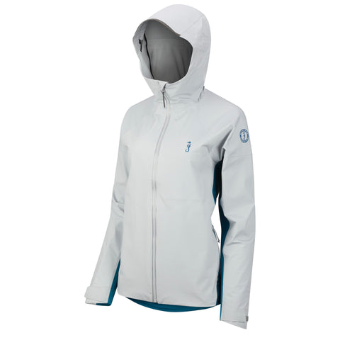 MJ2950 Women's Callan™ Waterproof Jacket Mid Grey - Ocean Blue