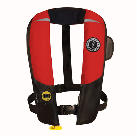 MD3151 Pilot 38 Manual Inflatable PFD Red-Black