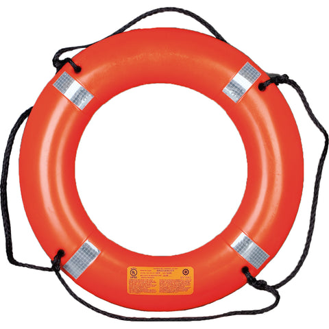 "30"" Ring Buoy with Reflective Tape and Bridge, mustang survival life ring buoy, ring buoy, life ring buoy"