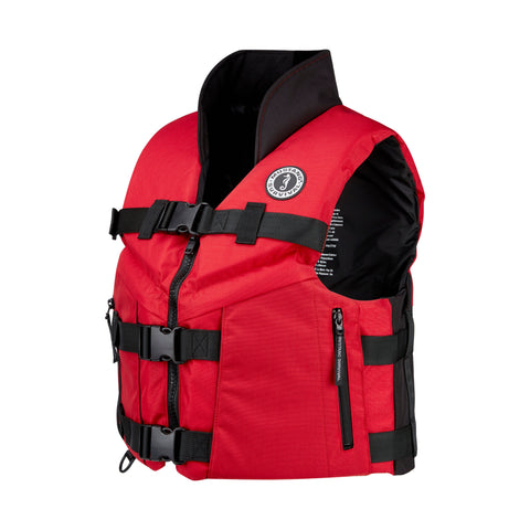 ACCEL100 Fishing life Vest side view