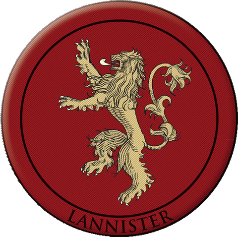 House Lannister Badge