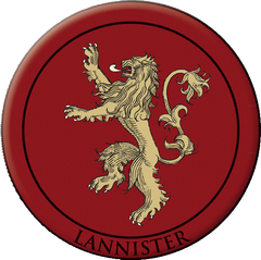 House Lannister Badge Photo