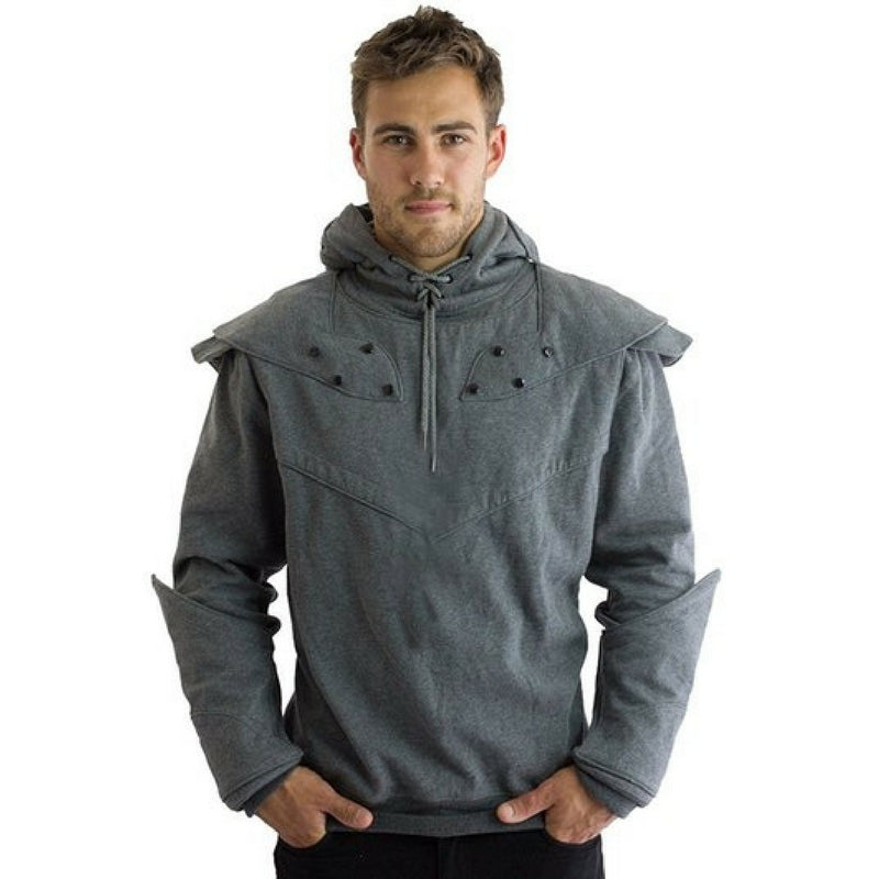 Original Knight Hoodies Grey Front Game of Thrones