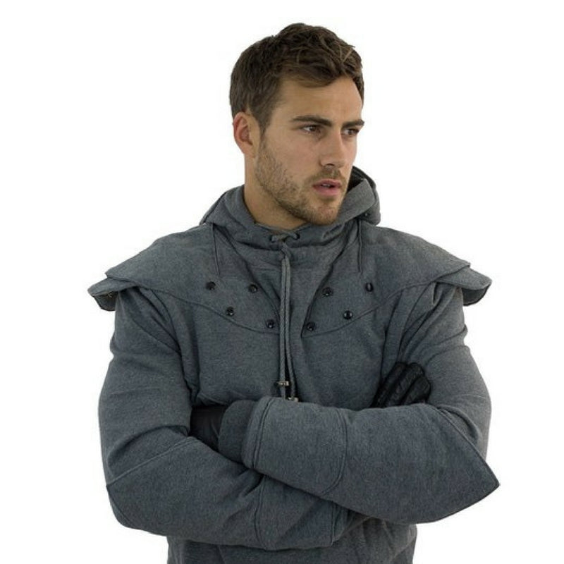 Original Knight Hoodies Grey Front Close Game of Thrones