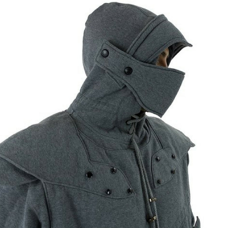 Original Knight Hoodies Grey Front Side Game of Thrones