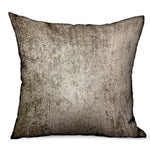 Harbor Sky Brown Solid Luxury Outdoor/Indoor Throw Pillow