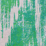 Green Avalanche Green Ikat Luxury Outdoor/Indoor Throw Pillow