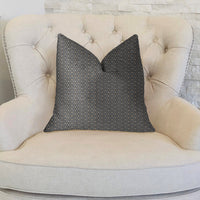 Cleopatra Blue and Gold Luxury Throw Pillow