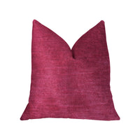 Lady Fuschia Pink Luxury Throw Pillow