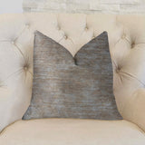 Bella Isabella Brown and Beige Luxury Throw Pillow