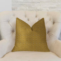 Goden Cleopatra Gold and Silver Luxury Throw Pillow