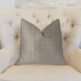 Jazzy Straw Multicolor Luxury Throw Pillow