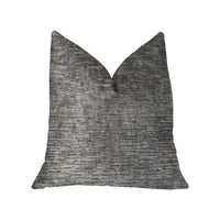 Drizziling Mist Gray Luxury Throw Pillow