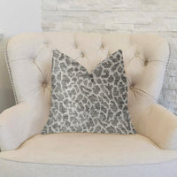 Lafayette Light Green and Beige Luxury Throw Pillow