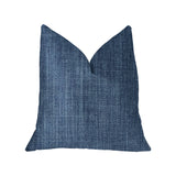 Blue Moon Blue Luxury Throw Pillow
