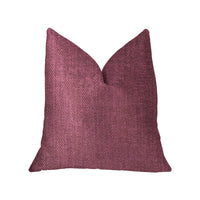 Plumptious Purple Luxury Throw Pillow