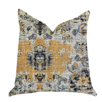 Free Spirit Damasque Luxury Throw Pillow