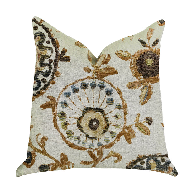 Daliani Floral Luxury Throw Pillow