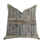 Promenade Way Textured Luxury Throw Pillow