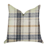 Plaid Rendezvous Luxury Throw Motif Pillow