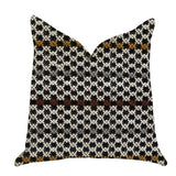 Poppy Chic Woven Luxury Throw Pillow in Multi Color