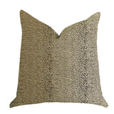 Shimmer in Gold Metallic Luxury Throw Pillow