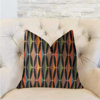Jazzy Crystal Multicolor Luxury Throw Pillow