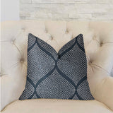 Pitaya Blue and White Luxury Throw Pillow