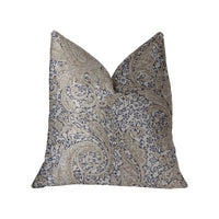 Quartz Skye Beige Luxury Throw Pillow