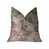 Garden Secrets Multicolor Luxury Throw Pillow