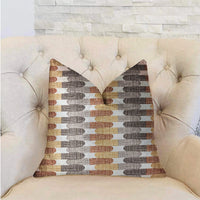 Gladstone Tiles Multicolor Luxury Throw Pillow