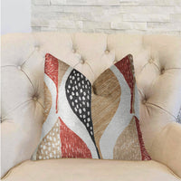 Oak Valley Multicolor Luxury Throw Pillow