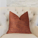 Roseate Orange Luxury Throw Pillow