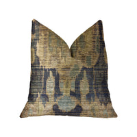 Bear Valley Green Luxury Throw Pillow