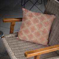 Plutus Brown Diamond Luxury Throw Pillow