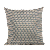 Plutus Blue Rocks Dot Luxury Throw Pillow