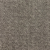 Jagged Ash Gray Chevron Luxury Outdoor/Indoor Throw Pillow