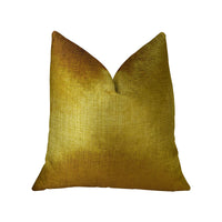 Golden Bijou Gold Handmade Luxury Pillow