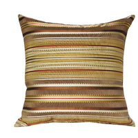 Macedonia Gold Red and Silver Handmade Luxury Pillow