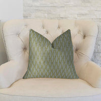 Swan Creek Cream and Gold Handmade Luxury Pillow