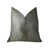 Venetian Silver Handmade Luxury Pillow