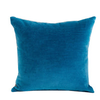 Aqua Dulce Teal Handmade Luxury Pillow