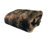 Mountain Coyote Handmade Luxury Throw