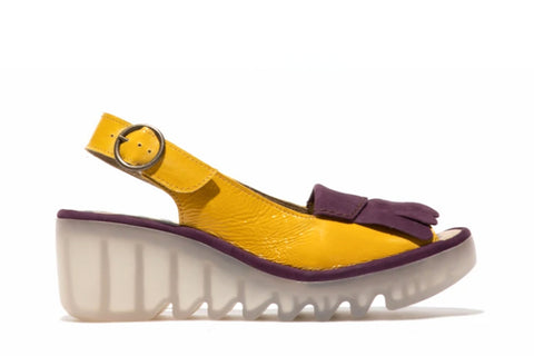 Fly London - Bind 303 Yellow/Purple