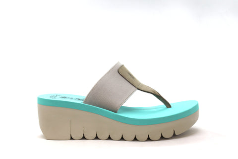 Fly London - Yumo 725 Grey/Mint