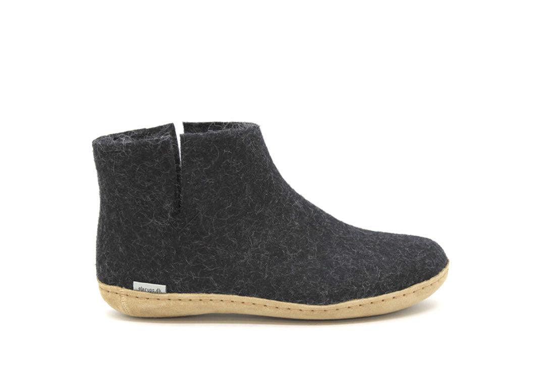 Glerups - Low Boot Charcoal