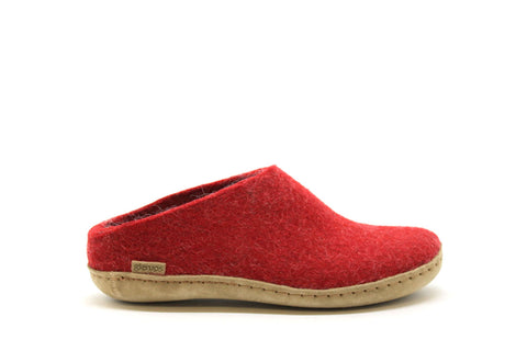 Glerups - Open Heel Red