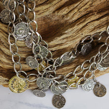 Load image into Gallery viewer, Tat2 Designs - Roman Coin Necklace