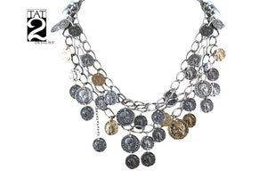 Tat2 Designs - Roman Coin Necklace